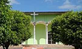 Santa Luzia do Oeste - Igreja Matriz de Santa Luzia foto Vicente A. Queiroz