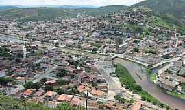 Jacobina - Jacobina-BA-Vista aérea da cidade-Foto:noedsonney