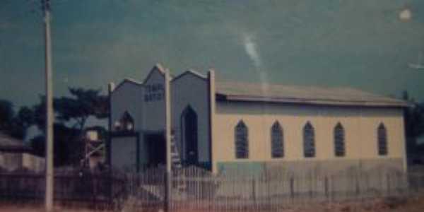 1ª igreja batista de úrupá em 1987, Por Oliveira leite guimaraes