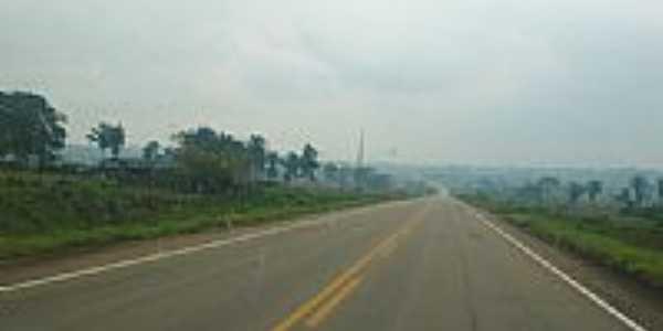 Chegando em Vila Extrema-Foto:cbmatos