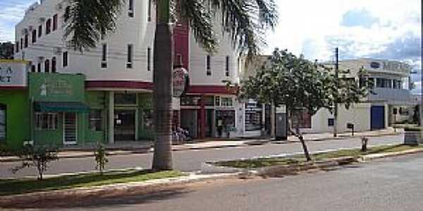 Vilhena-RO-Avenida Major Amarante-Foto:Forista BR 364