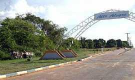 Alto Alegre - Alto Alegre-RR-Pórtico de entrada da cidade-Foto:Tiago Orihuela
