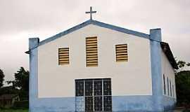 Amajarí - Amajarí-RR-Igreja de Santa Luzia-Foto:Vicente A. Queiroz