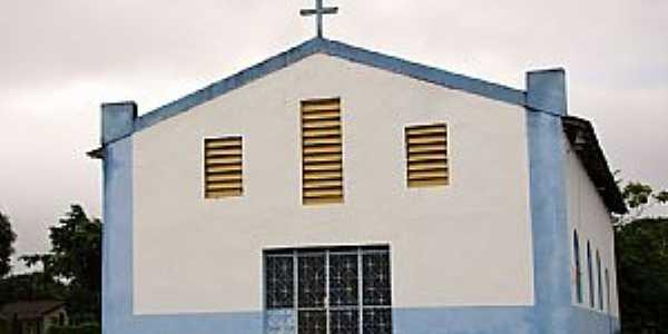 Amajarí-RR-Igreja de Santa Luzia-Foto:Vicente A. Queiroz