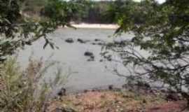 Bonfim - Rio Tacutu - fronteira entre Brasil e Guiana Inglesa, Por Derbi Mota de Souza