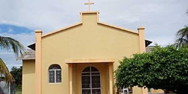 Bonfim-RR-Igreja de São Sebastião-Foto:Vicente A. Queiroz