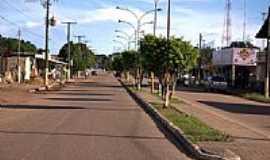 Caracaraí - Avenida em Caracaraí-Foto:Tiago Orihuela