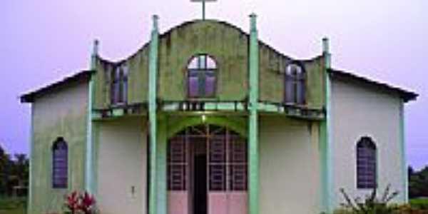 Caroebe-RR-Igreja de Santo Antônio-Foto:pereiramo.zip.net