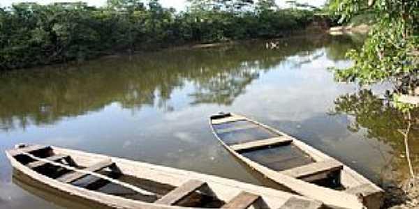 São Luiz do Anauá-RR-Rio Anauá-Foto:Tiago Orihuela