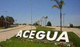 Aceguá - Aceguá-RS-Entrada da cidade-Foto:www.acegua.rs.gov.br