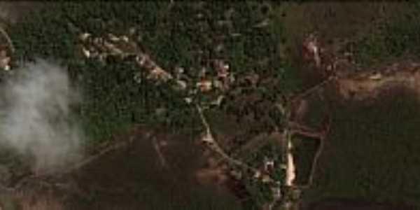 Jacuruna-BA-Vista aérea do Povoado-Foto:Eliabe Meira