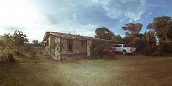 Águas Claras-RS-Casa em área rural-Foto:Aline More-Facebook