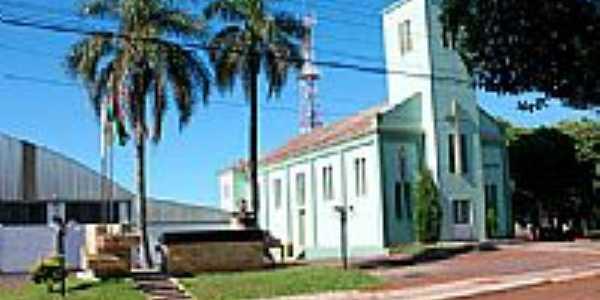 Igreja de Almirante Tamandaré do Sul-Foto:hjobrasil