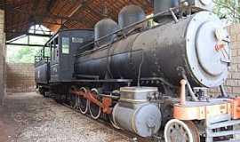 Delmiro Gouveia - Delmiro Gouveia-AL-Locomotiva no Museu Delmiro Gouveia-Foto:RICARDO SABADIA