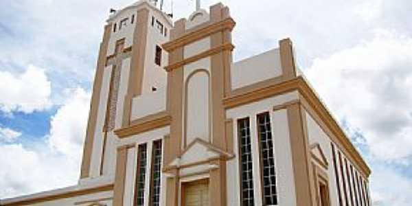 Jaguaquara-BA-Matriz de N.Sra.Auxiliadora-Foto:Vicente A. Queiroz