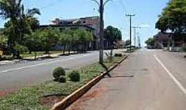Alto Alegre - Avenida Júlio de Castilhos em Alto Alegre-Foto:sdala.
