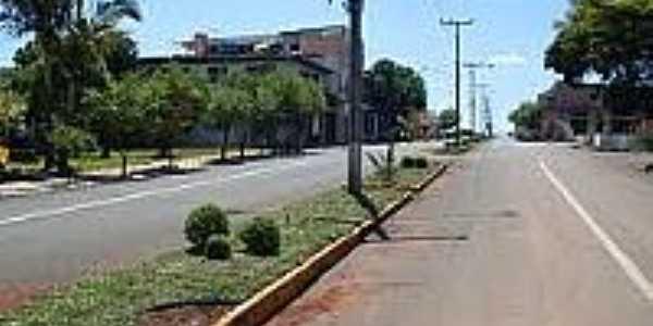 Avenida Júlio de Castilhos em Alto Alegre-Foto:sdala.