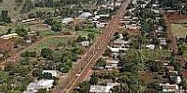 Vista aérea da cidade de Alto Alegre-Foto:guiabr.net