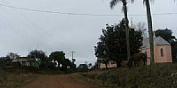 Entrada da Vila Alto da União-Foto:Cesar Lopes
