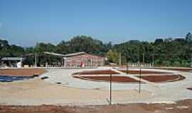 Alto Feliz - Construção da praça/2009-Foto:marcelo sauthier