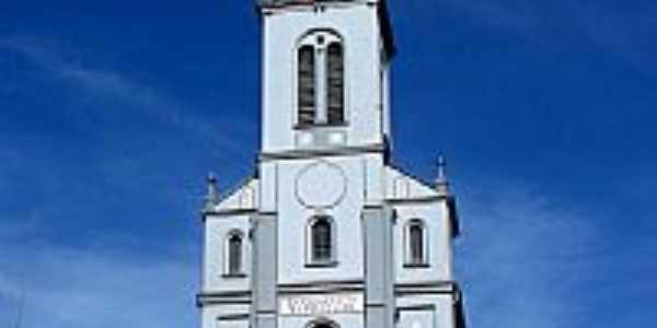 Alto Feliz-RS-Igreja de São Inácio da Feliz-Foto:Germano Schüür
