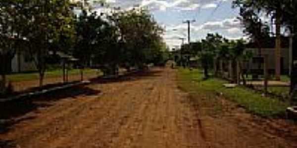 Avenida Principal em Alto Uruguai-Foto:Paulo Cesar Veiga