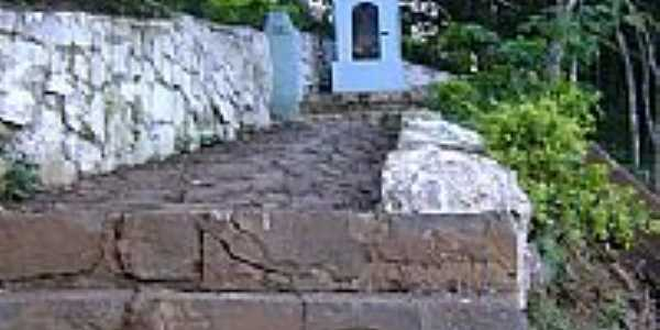 Escadarias da Capelinha em Alto Uruguai-Foto:Marcelo L. Christoff