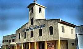 Alvorada - Igreja de N.Sra.da Conceição em Alvorada-RS-Foto:luis renato tavares …