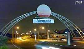 Alvorada - Pórtico da cidade de Alvorada-RS-Foto:Rafa Lourenco