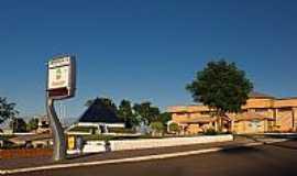 Ametista do Sul - Ametista do Sul-RS-Entrada da cidade e a Pirâmide-Foto:fotografo3d