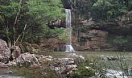 Anta Gorda - Cachoeira em Anta Gorda-RS-Foto:Josias Porciuncula O…