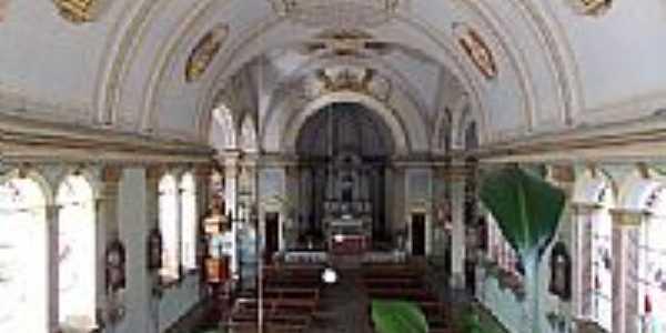 Antônio Prado-RS-Interior da Matriz do Sagrado Coração de Jesus-Foto:Sidnei Recco