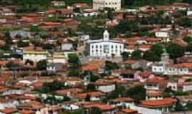 Jaguarari - Vista da Igreja Matriz de Jaguarari-Foto:heberteguedes