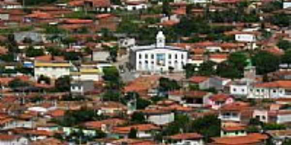 Vista da Igreja Matriz de Jaguarari-Foto:heberteguedes