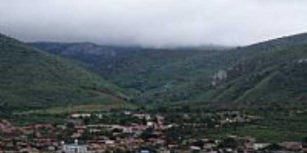Vista do centro de Jaguarari-Foto:heberteguedes