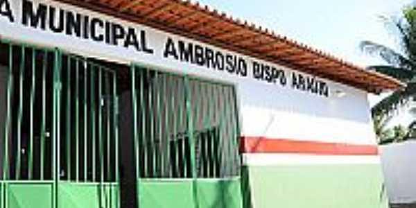 Jaíba-BA-Escola Municipal Ambrósio Bispo de Araújo-Foto:Simas