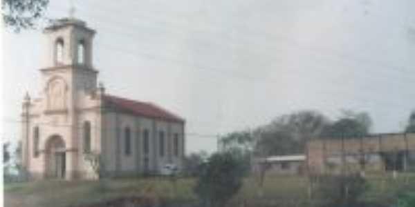 Capela do distrito de Baliza município de Gaurama RS, Por Pedro Martim Kokuszka
