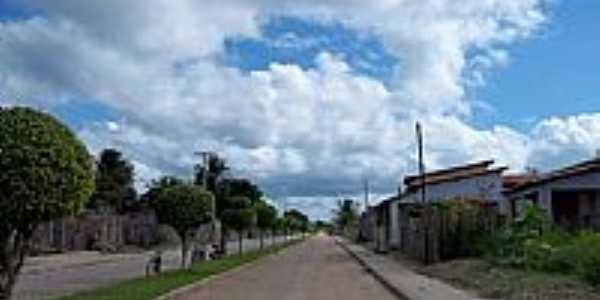 Jandaíra-BA-Avenida de entrada da cidade-Foto:MARCOS S. ALVES