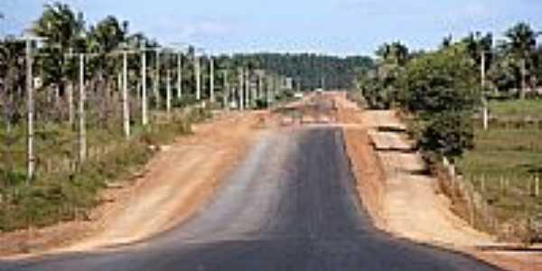 Janda�ra-BA-Rodovia BR-101-Foto:jandairaprefeitura.ba.gov.br