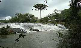 Barracão - Barracão-RS-Cachoeiras Rio Marmeleiro-Foto:Gleison Viapiana