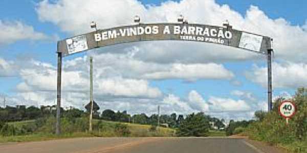 Barracão-RS-Entrada da cidade-Foto:Luciano R Oliveira