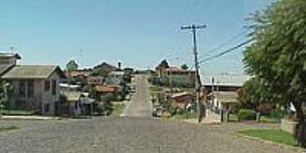 Rua Pedro Giacomet em Bela Vista-Foto:Silverio Luiz Soligo