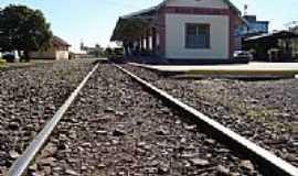 Bento Gonçalves - Estação Ferroviária de Bento Gonçalves-RS-Foto:Romão