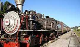 Bento Gonçalves - Trem Turístico Maria Fumaça em Bento Gonçalves-RS-Foto:Romão
