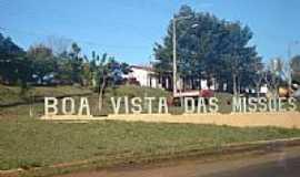 Boa Vista das Missões - Pórtico da cidade-Foto:Renato Viana Albarra…