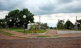 Boa Vista do Incra - Boa Vista do Incra-RS-Praça no centro-Foto:hjobrasil