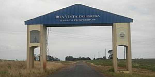Boa Vista do Incra-RS-Pórtico de entrada da cidade-Foto:BLOG DO JH