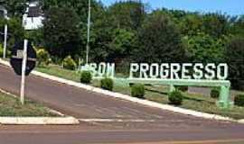 Bom Progresso - Entrada da cidade-Foto:Roque Oliveira