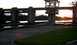 Bom Retiro do Sul - Pôr do Sol na Barragem, por Felipe Stefens