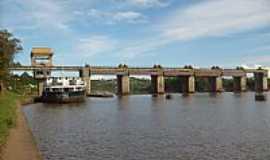 Bom Retiro do Sul - Bom Retiro do Sul-RS-Barragem Eclusa-Foto:Josias Porciuncula Obes